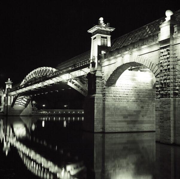 Bridge. Night Cityscape Photo by Arkady Gude